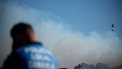 Bosbrand op Gran Canaria stilaan onder controle, 10.000 hectare verwoest