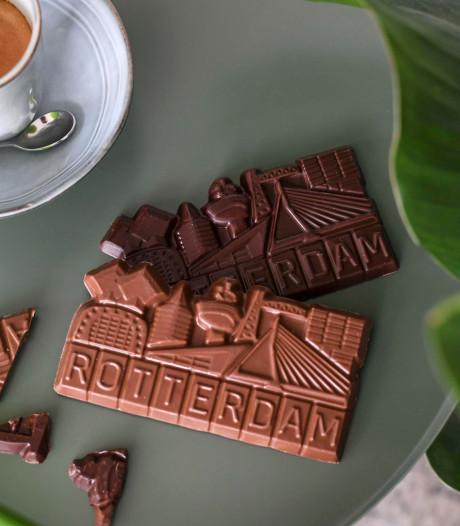 Chocolade in vorm van Rotterdam nóg lekkerder? Tim en Chris denken van wel