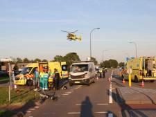 Fietser aangereden in Waalwijk, slachtoffer naar ziekenhuis