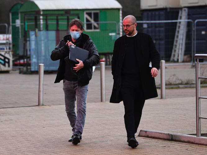 Frank Vercauteren arriveert op de Bosuil voor eerste werkdag bij Antwerp
