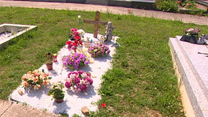 La sépulture de Valentin Vermeesch