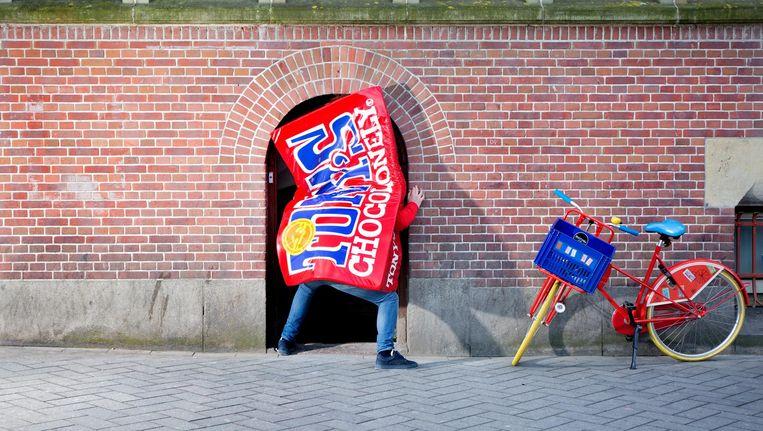 Op 13 april opent de tweede Tonys Chocolonely-winkel in Amsterdam: in de Beurs van Berlage. Beeld Tonys Chocolonely