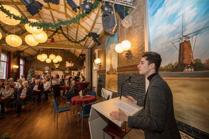 Eindhoven - laatste nieuwjaarstoespraak van Remco van Dooren, voorzitter van dorpsraad