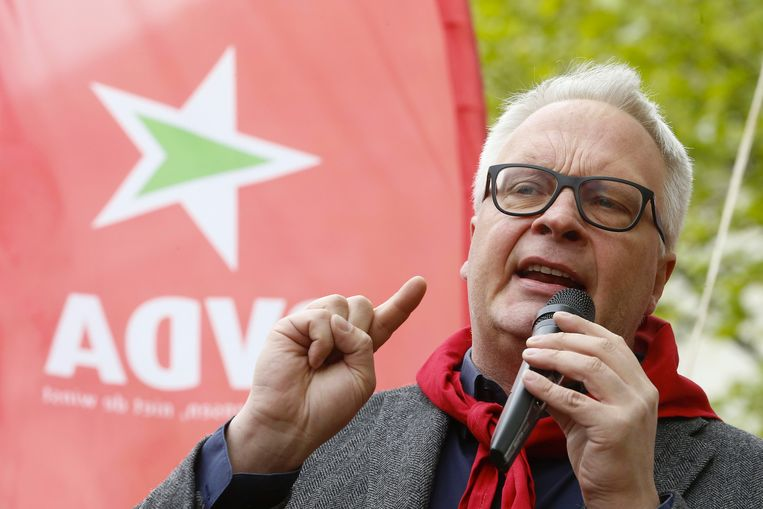 PVDA+-lijsttrekker Peter Mertens.