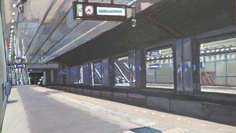 Metrostation CS Beeld Bert Osinga
