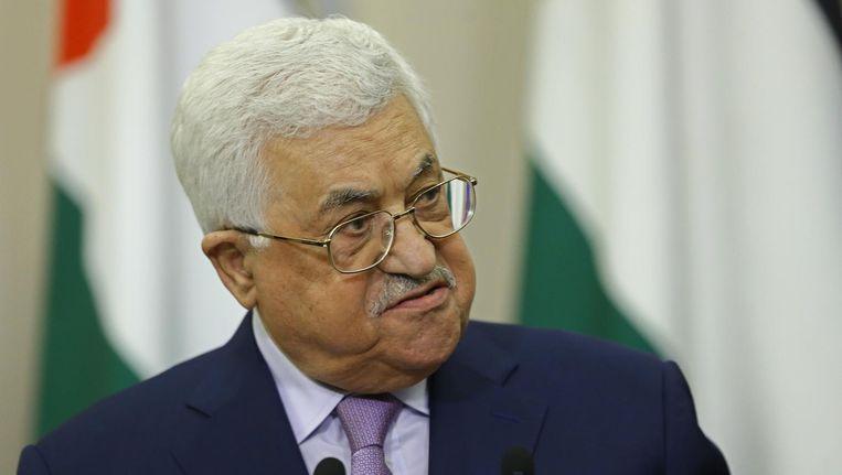 Palestijnse president Mahmoud Abbas Beeld anp