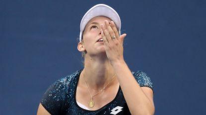 Mertens veweert zich kranig in Cincinnati, maar tweevoudig Wimbledon-winnares Kvitova is toch te sterk in kwartfinales