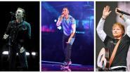U2, Coldplay en Ed Sheeran zijn de best verdienende artiesten