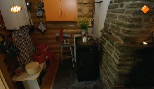De primitieve keuken.