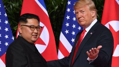 """Trump: """"Nog te vroeg om naar Pyongyang te gaan"""""""