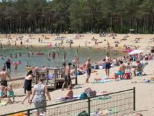 Eerste recreatieplas op de Veluwe al afgesloten vanwege drukte op zomerse dag