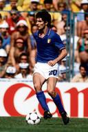 Paolo Rossi tijdens het WK 1982.