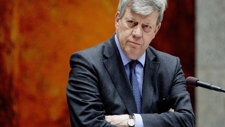 Minister Ivo Opstelten Beeld anp