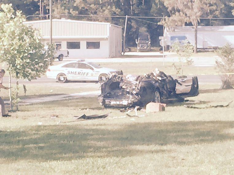 Dodelijk ongeval met Tesla in Williston in Florida.