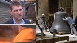 """De klokkenmaker van de Notre-Dame: """"Je krijgt toch een band met zo'n klok"""""""