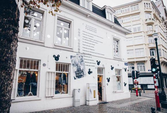 De winkel van Margiela in Brussels.