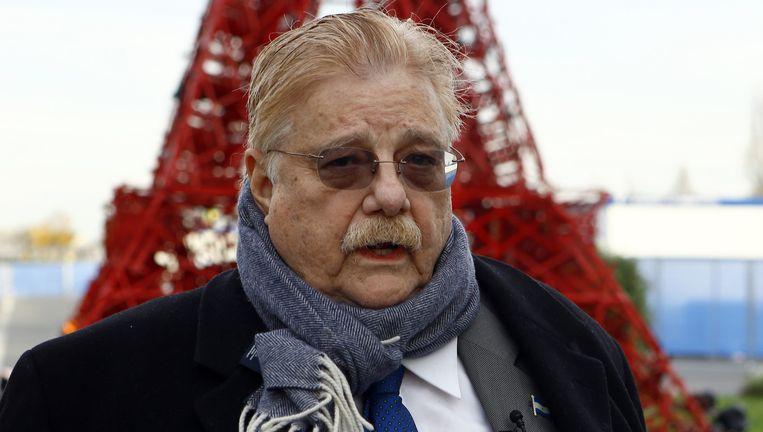 De Amerikaanse onderhandelaar voor Nicaragua Paul Oquist. Beeld ap