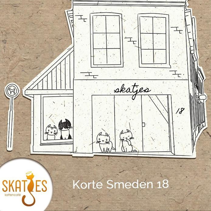 Kattencafé Skatjes heeft een plek in de binnenstad van Zwolle gevonden.