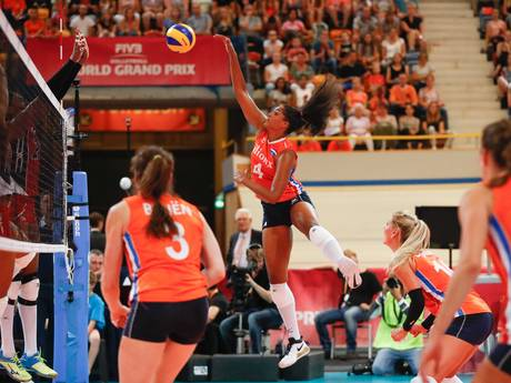 Verenigde Staten maatje te groot voor volleybalsters in World Grand Prix