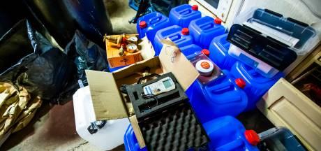 Politie ontdekt meer drugslabs, aantal dumpingen daalt