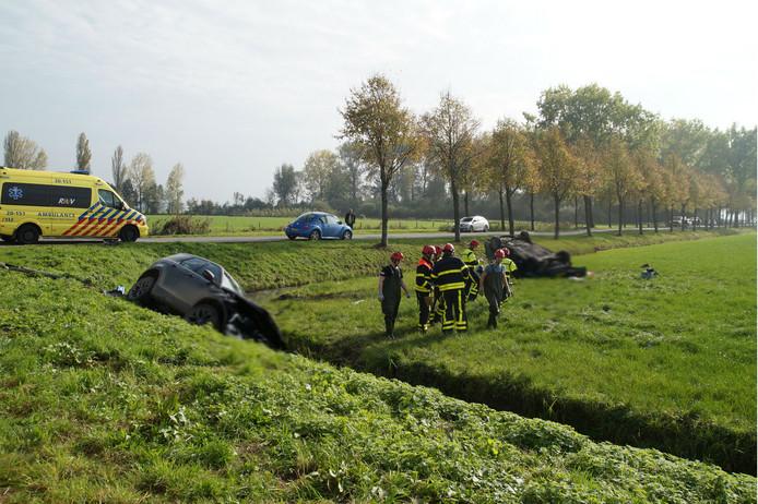 Ernstig ongeval in Almkerk.