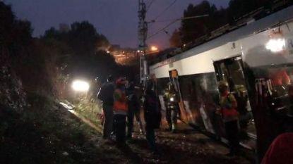 Trein ontspoord nabij Barcelona, één dode en 44 gewonden