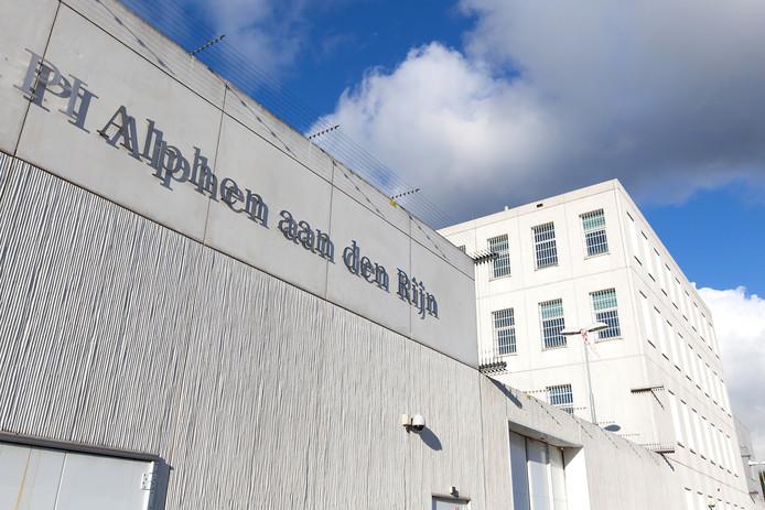 De penitentiaire inrichting in Alphen.