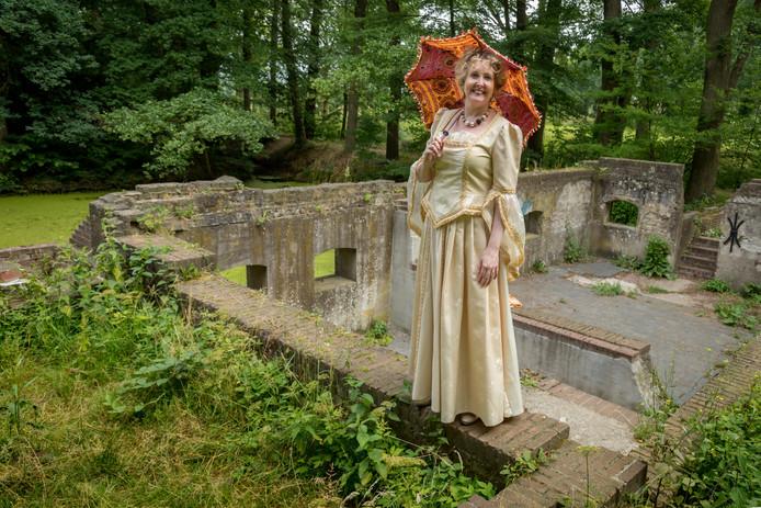 Frédérique Schoenmakers is verhalenverteller op landgoed Seldensate.