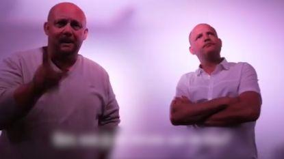 Twee leerkrachten maken lied voor onderwijsminister Ben Weyts