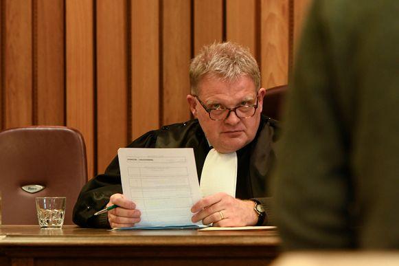 Geert Vandaele, politierechter in Veurne.