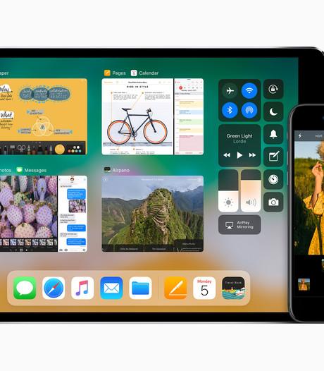 Dit is er nieuw in iOS 11 voor iPhone en iPad, vanavond te downloaden