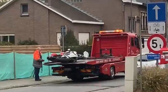 Ongeval op de Leuvensesteenweg.