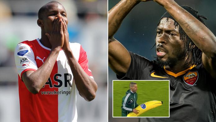 Volgens Voetbal International heeft oud-Feyenoorder Sekou Cissé contact gezocht met zijn vriend en landgenoot Gervinho om uit te leggen dat de opblaasbanaan geen uiting van racisme was.