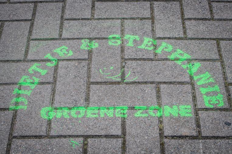 De wijk werd omgedoopt tot 'Groene Zone van Dietje en Stephanie'.