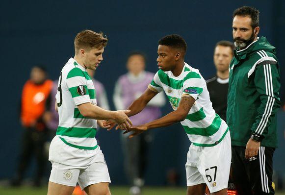 Charly Musonda's Europees debuut bij Celtic.