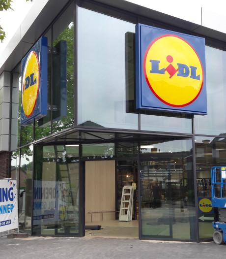 De dag waarop veel mensen hebben gewacht in Gennep: Lidl gaat open