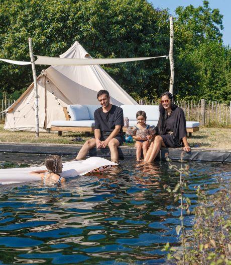 Drie generaties genieten van deze tuin in Epse: 'We zijn vooral verliefd op de zwemvijver'