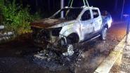 Terreinwagen vliegt in brand op E314: bestuurder kan zich op tijd in veiligheid brengen