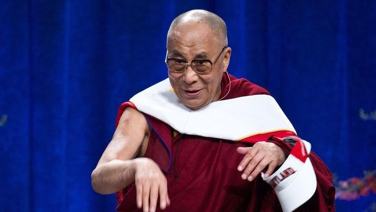 Dalai Lama Beeld afp
