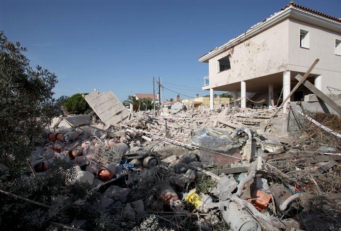 Het huis in Alcanar ontplofte toen er iets misging met de daar opgeslagen gasflessen die werden gebruikt door de terroristen om een bom te fabriceren.