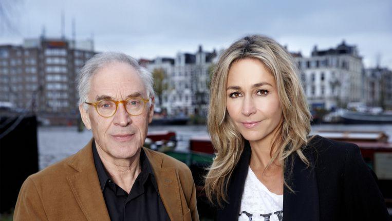 Professor Heymans en Wendy van Dijk. Beeld William Rutten