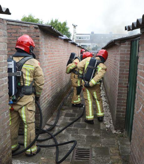 Mogelijk asbest vrijgekomen bij schuurbrand in Nijnsel