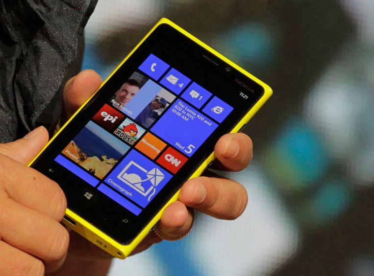 Nokia Lumia 920 Beeld reuters