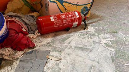 """Leeggespoten brandblussers, graffiti en ingegooide ruiten in leegstaande school: """"Een pretpark voor vandalen"""""""
