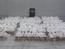 Douane vindt 2020 kilo cocaïne (met een waarde van ruim 151 miljoen euro) tussen bananen