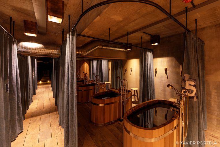 Sinds juli is de Atsukan - het typische Japanse kuuroord met badkuipen - geopend in JAM.