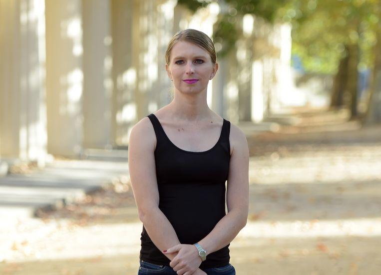 Chelsea Manning in Londen.  Beeld Hollandse Hoogte / Camera Press Ltd