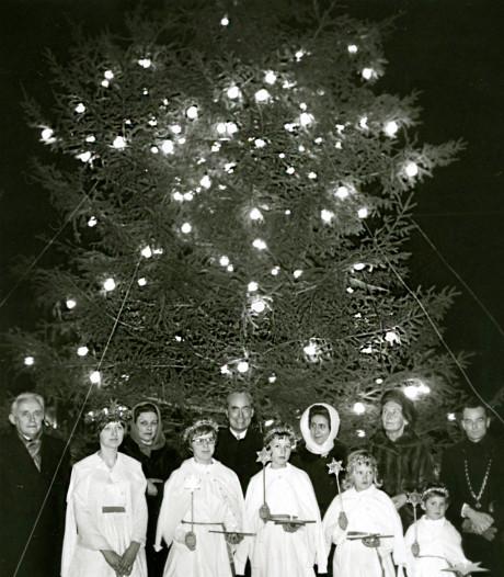 De warme band met Zweden zorgde voor de mooiste kerstbomen in Abbenbroek