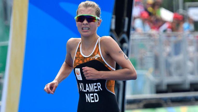 32be855574d417 ... Rachel Klamer werd vorig jaar juli tweede in de World Triathlon Series  in Hamburg. Beeld Hollandse Hoogte / Soenar Chamid sportfotografie