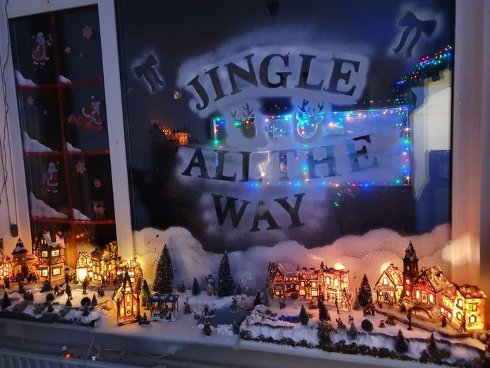Het huis van Patrick en Renate Lodeweges is helemaal klaar voor de feestdagen!